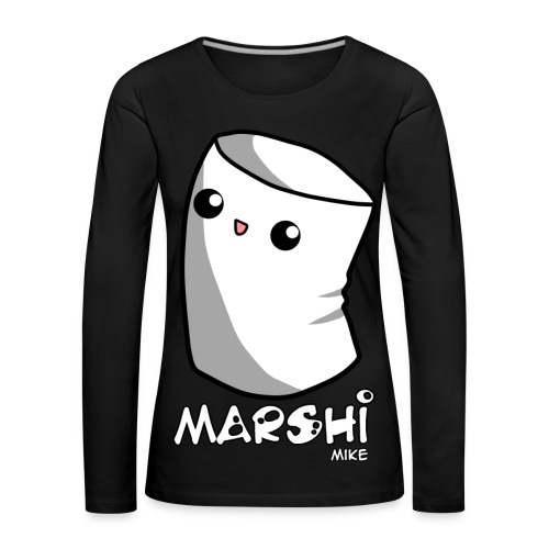 Marshi Mike Marshmallow by Chosen Vowels - Shirt Boys - Frauen Premium Langarmshirt