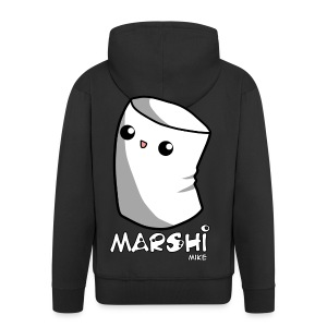 Marshi Mike Marshmallow by Chosen Vowels - Shirt Boys - Männer Premium Kapuzenjacke