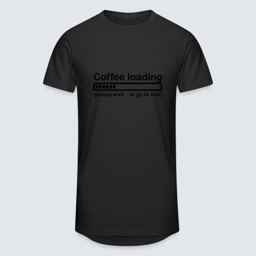 Coffee loading - Männer Urban Longshirt
