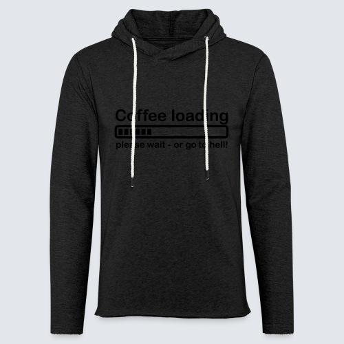 Coffee loading - Leichtes Kapuzensweatshirt Unisex