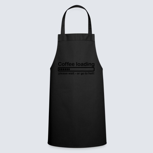 Coffee loading - Kochschürze