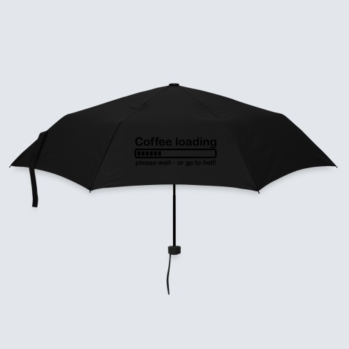 Coffee loading - Regenschirm (klein)