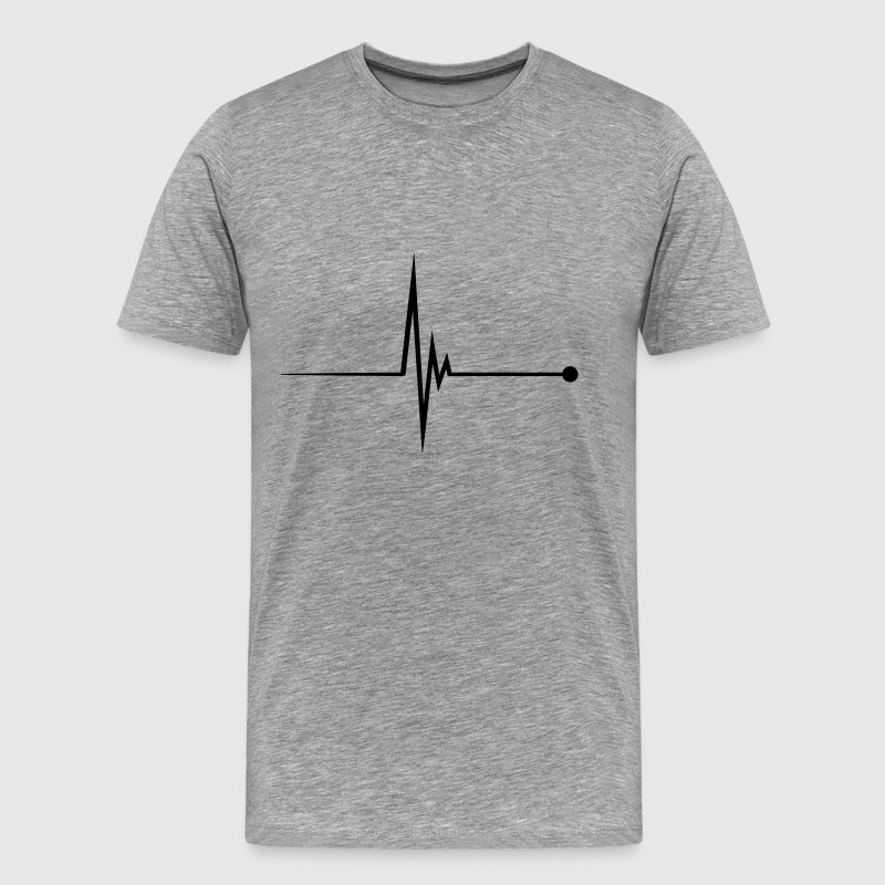 Heartbeat Pulse Tee shirts - T-shirt Premium Homme
