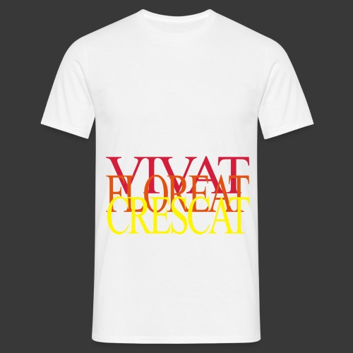 VIVAT FLOREAT CRESCAT - Men's T-Shirt