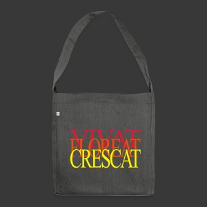 VIVAT FLOREAT CRESCAT - Shoulder Bag made from recycled material