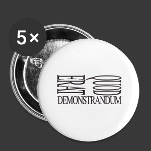 QUOD ERAT DEMONSTRANDUM - Buttons large 56 mm