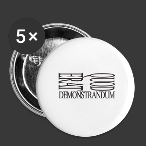 QUOD ERAT DEMONSTRANDUM - Buttons medium 32 mm