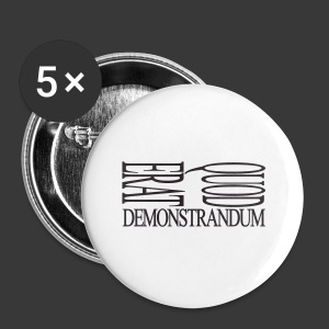 QUOD ERAT DEMONSTRANDUM - Buttons small 25 mm