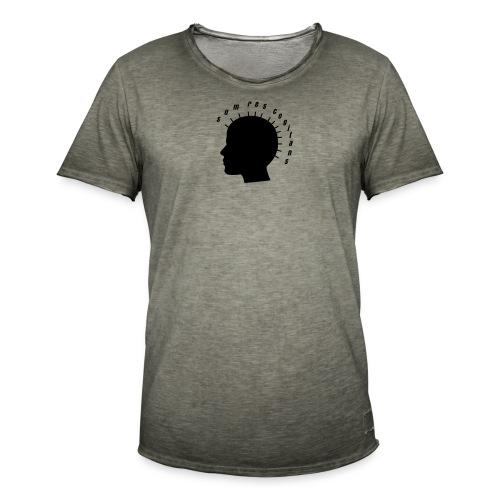 sum res cogitans - Männer Vintage T-Shirt