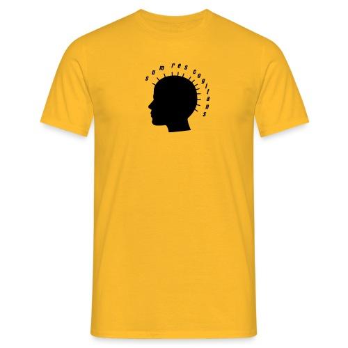 sum res cogitans - Männer T-Shirt
