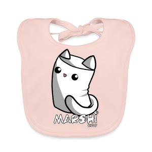 Marshi Kitty Marshmallow by Chosen Vowels - Shirt - Baby Bio-Lätzchen