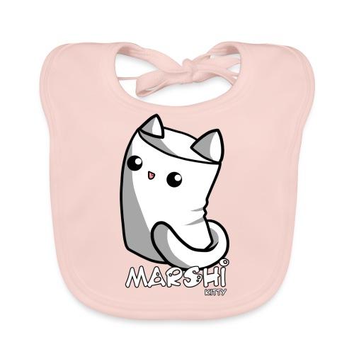 Marshi Kitty Marshmallow by Chosen Vowels - Shirt - Baby Bio-Lätzchen
