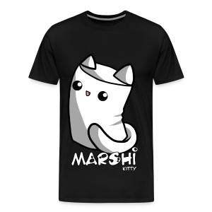 Marshi Kitty Marshmallow by Chosen Vowels - Shirt - Männer Premium T-Shirt