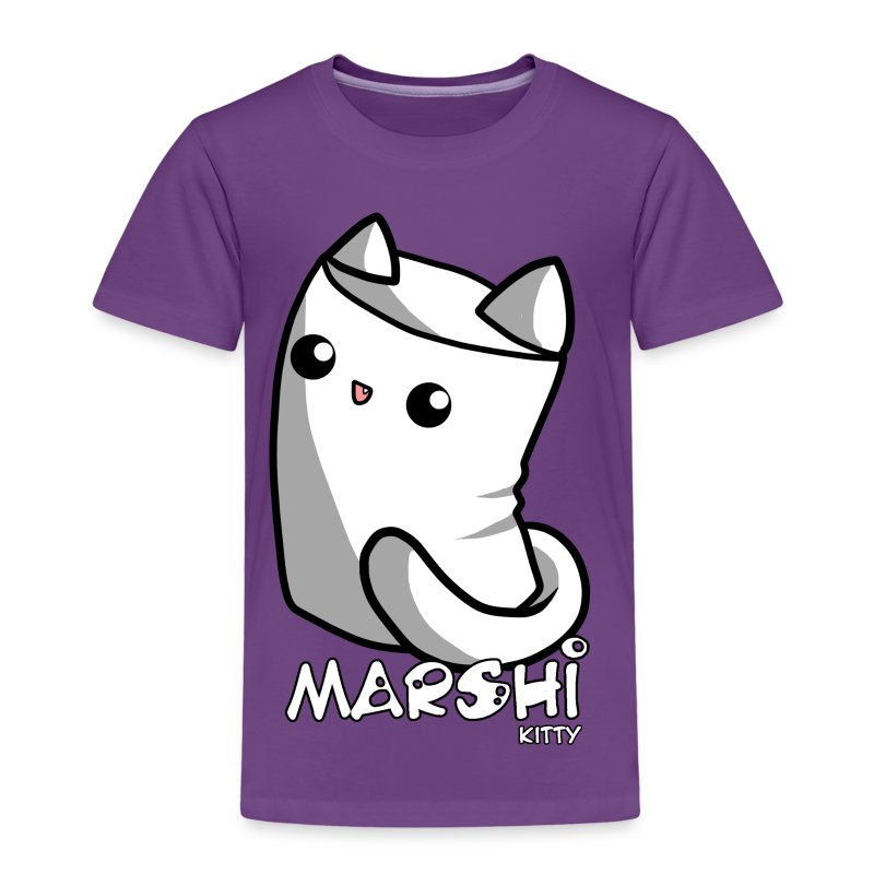 Marshi Kitty Marshmallow by Chosen Vowels - Shirt - Kinder Premium T-Shirt