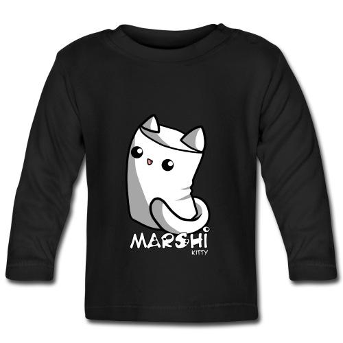 Marshi Kitty Marshmallow by Chosen Vowels - Shirt - Baby Langarmshirt