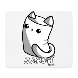 Marshi Kitty Marshmallow by Chosen Vowels - Shirt - Mousepad (Querformat)