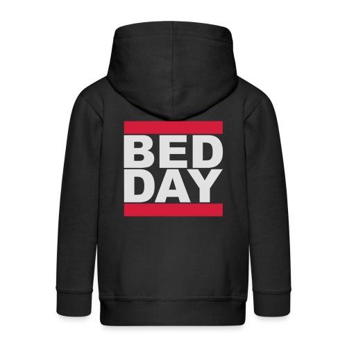 Bed Day   Männer Shirt - Kinder Premium Kapuzenjacke