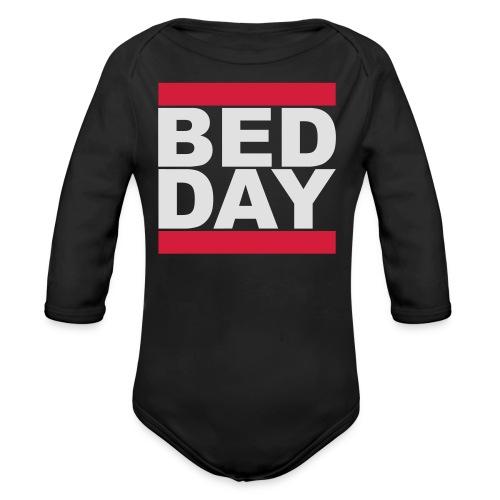 Bed Day   Männer Shirt - Baby Bio-Langarm-Body