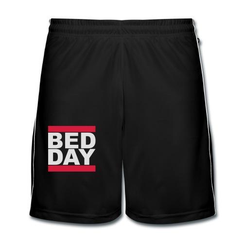 Bed Day   Männer Shirt - Männer Fußball-Shorts