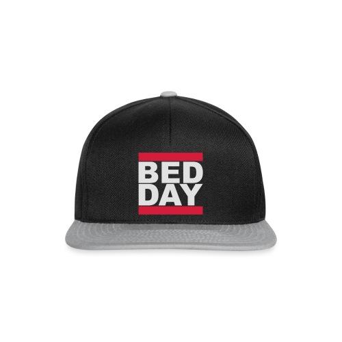 Bed Day   Männer Shirt - Snapback Cap