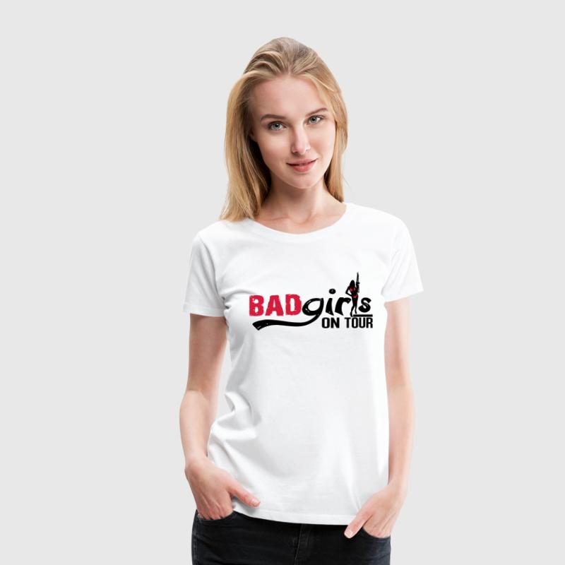Bad girls on tour T-Shirts - Women's Premium T-Shirt