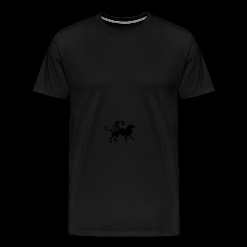 Gürteltasche mit  Fabelwesen - Männer Premium T-Shirt