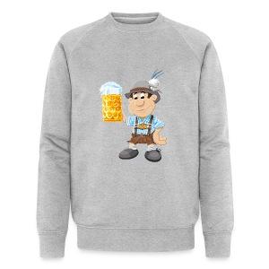Herren T-Shirt Oktoberfest Lederhosen Bier - Männer Bio-Sweatshirt von Stanley & Stella