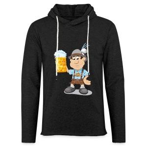 Herren T-Shirt Oktoberfest Lederhosen Bier - Leichtes Kapuzensweatshirt Unisex