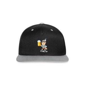 Herren T-Shirt Oktoberfest Lederhosen Bier - Kontrast Snapback Cap