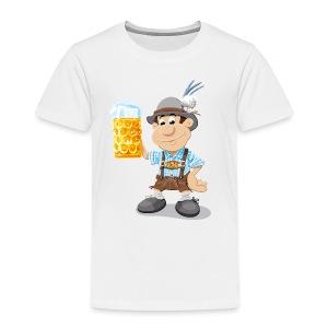 Herren T-Shirt Oktoberfest Lederhosen Bier - Kinder Premium T-Shirt