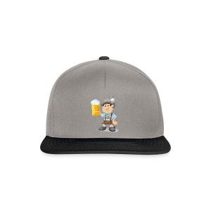Herren T-Shirt Oktoberfest Lederhosen Bier - Snapback Cap