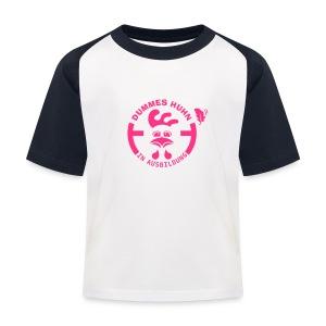 Dummes Huhn in Ausbildung - Kinder Baseball T-Shirt