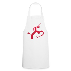 Einhorn mit Herz T-Shirts - Kochschürze