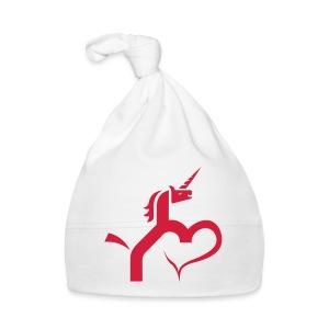 Einhorn mit Herz T-Shirts - Baby Mütze