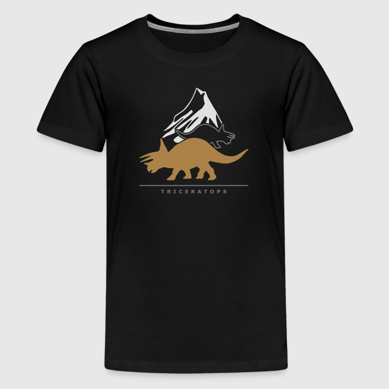 Urzeitriesen: Triceratops Shirts - Teenage Premium T-Shirt
