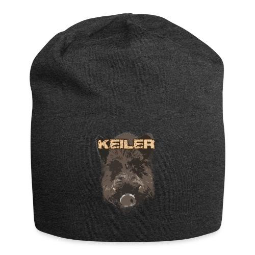 Jagdshirt - Keiler braun - Jersey-Beanie