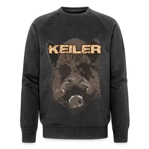 Jagdshirt - Keiler braun - Männer Bio-Sweatshirt von Stanley & Stella