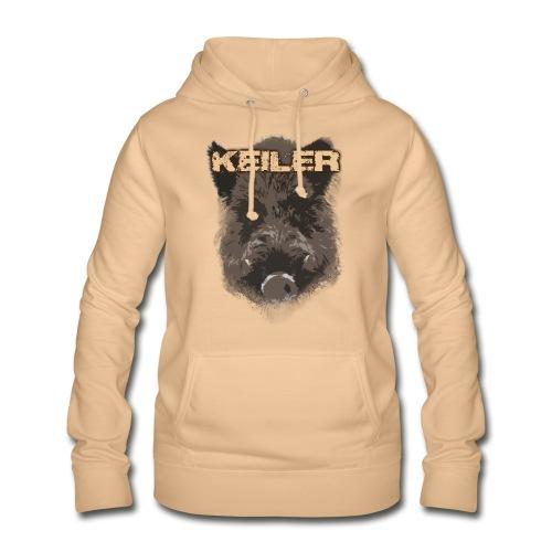 Jagdshirt - Keiler braun - Frauen Hoodie