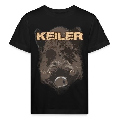 Jagdshirt - Keiler braun - Kinder Bio-T-Shirt