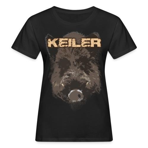 Jagdshirt - Keiler braun - Frauen Bio-T-Shirt