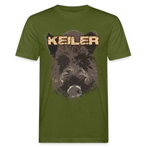 Jagdshirt - Keiler braun - Männer Bio-T-Shirt