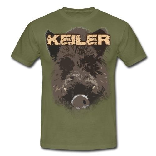 Jagdshirt - Keiler braun - Männer T-Shirt