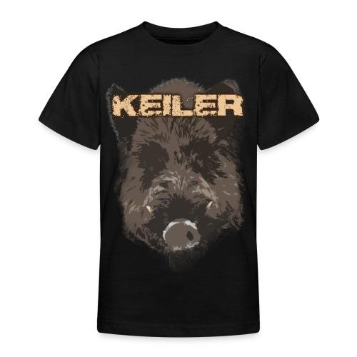 Jagdshirt - Keiler braun - Teenager T-Shirt