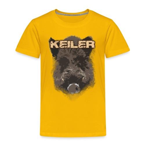 Jagdshirt - Keiler braun - Kinder Premium T-Shirt