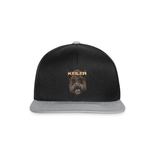 Jagdshirt - Keiler braun - Snapback Cap