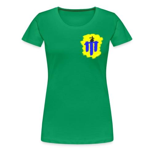 Harmsborg Wappen - Men Shirt - Frauen Premium T-Shirt