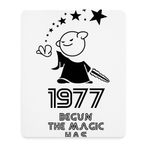 1977 the best year - Mousepad (Hochformat)