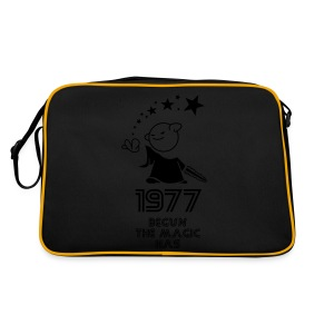 1977 the best year - Retro Tasche