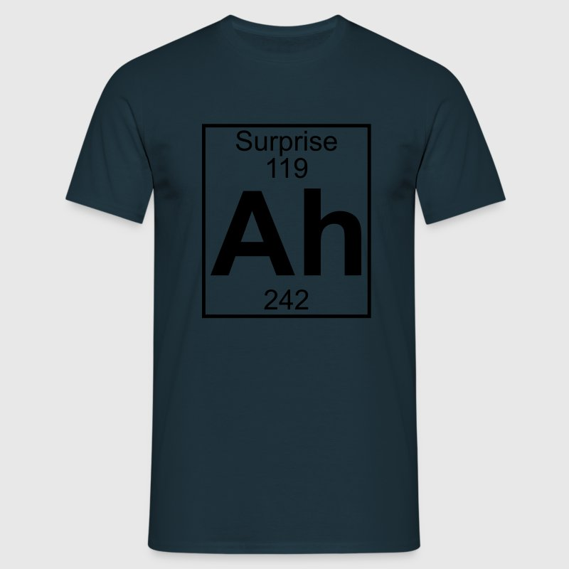 Ah - the Element of Surprise T-shirts - Mannen T-shirt