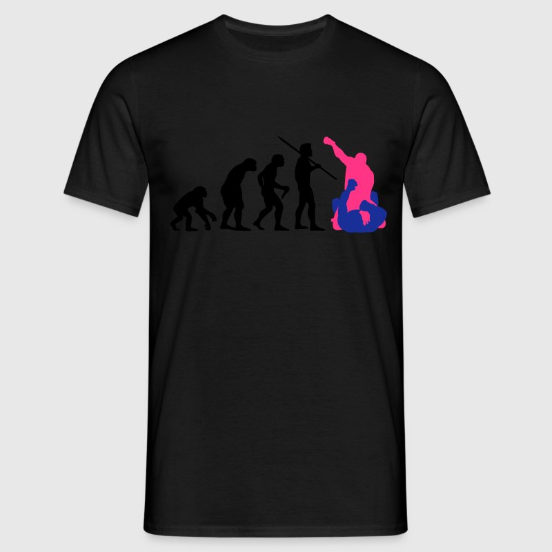Men's Evolution of Man - MMA #1 T-Shirt - Men's T-Shirt